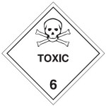 Toxic Class 6 Sign