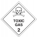 Toxic Gas Class 2.3 Sign