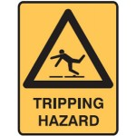 Trip Picto Tripping Hazard Sign