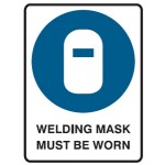 Welding Mask Picto Welding Mask Must Be Worn Sign